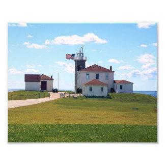 Phare de colline de montre, copie de photo d'Île
