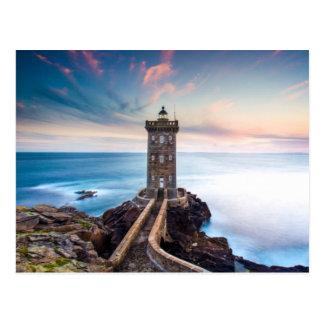 Phare de Kermorvan en France Cartes Postales