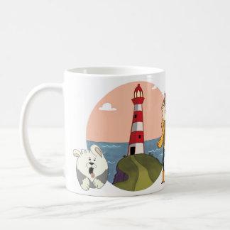 """Phare de la """"chanson de la mer """" mug"""