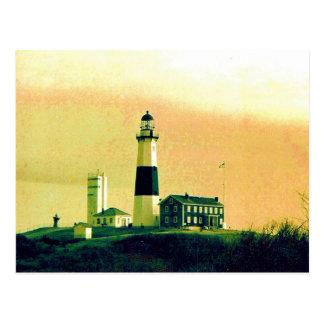 phare de montauk carte postale