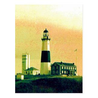 phare de montauk cartes postales