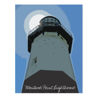 Phare de point de Montauk Carte Postale