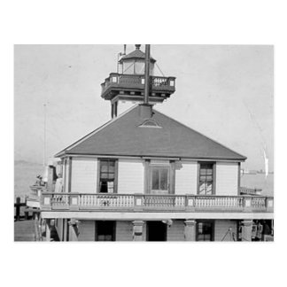 Phare de port d'Oakland Carte Postale