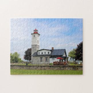 Phare de port d'Ogdensburg, puzzle de New York