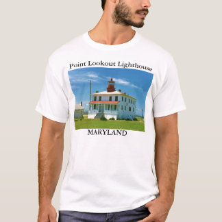 Phare de surveillance de point, T-shirt du