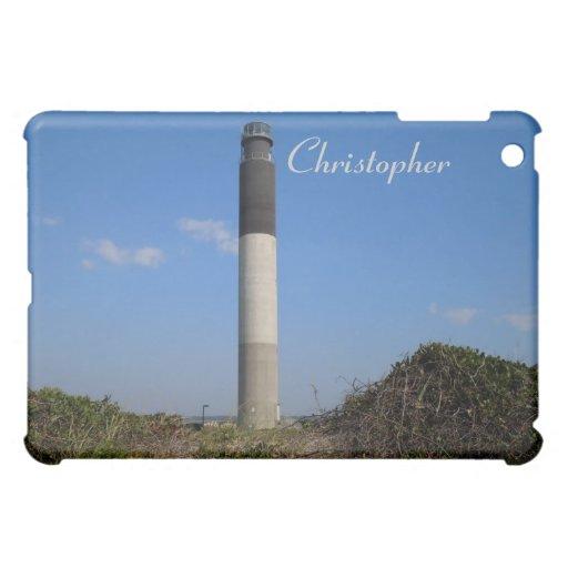 Phare d'île de chêne - OR Coque Pour iPad Mini