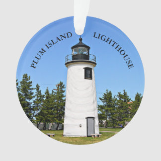 Phare d'île de prune, ornement du Massachusetts