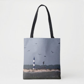 Phare d'OBX Tote Bag