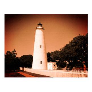 Phare d'Ocracoke Cartes Postales