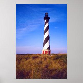 Phare du Cap Hatteras, la Caroline du Nord Posters