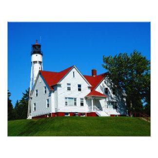 Phare le comté de Door, le Wisconsin Impression Photo