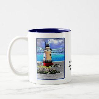 Phare, Westchester, NY Mug Bicolore