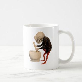 Pharmacie squelettique mug