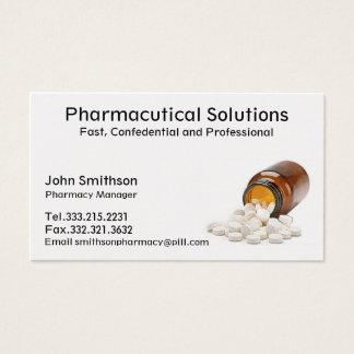 Pharmacien de carte de visite de pharmacie