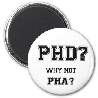 PhD ? Pourquoi pas PhA ? Père d'Asiatique de Aimant