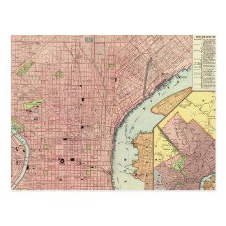 Philadelphie 5 carte postale