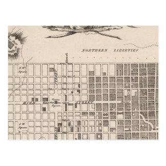 Philadelphie 6 carte postale