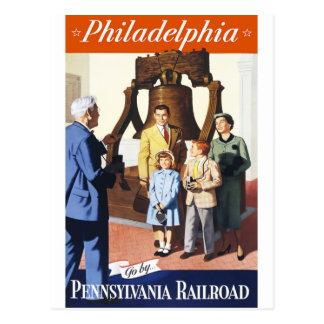 Philadelphie Carte Postale