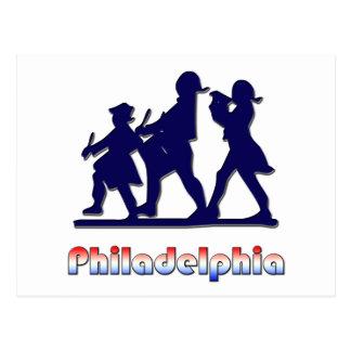 Philadelphie coloniale carte postale