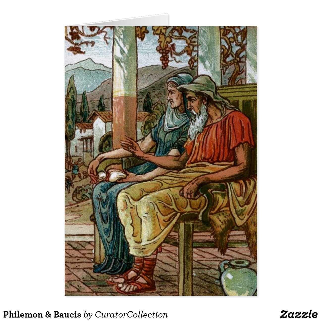 baucis and philemon The aged couple baucis and philemon provide a classic example of extreme  piety – for which they receive an extraordinary reward baucis and philemon's.