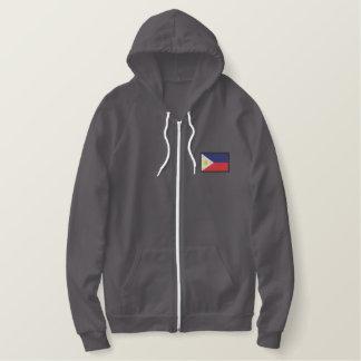 Philippines Sweatshirt À Capuche Avec Brodé