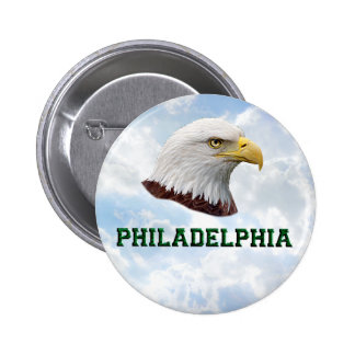 Philly Eagle - bouton rond Pin's