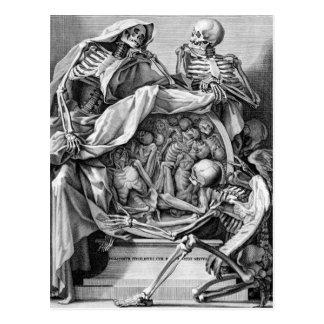 Philosophie de carte postale de mortalité