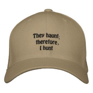 Philosophie de chasseurs de fantôme casquette brodée