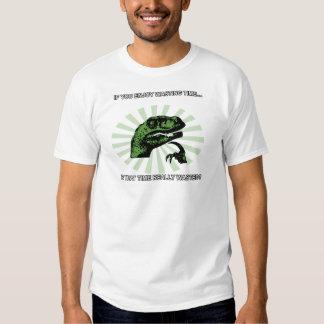 Philosoraptor perdant le temps t-shirt