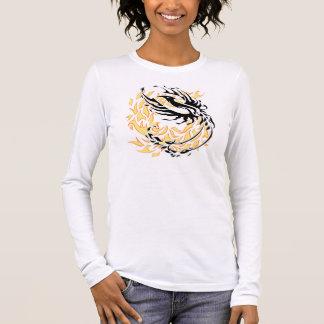 Phoenix tribal t-shirt à manches longues
