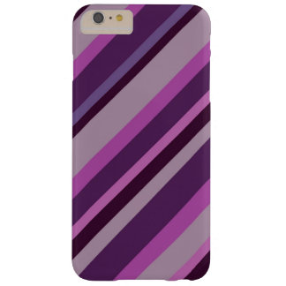 Phonecase pourpre de rayure coque iPhone 6 plus barely there