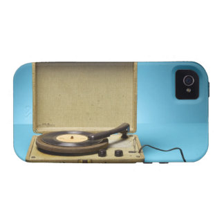 Phonographe vintage coques Case-Mate iPhone 4