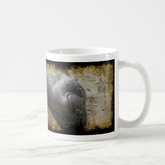 Phoque d'éléphant de sourire mug