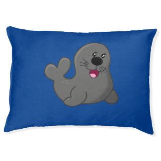 Phoque heureux lit pour chien