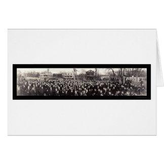 Photo 1919 de loge grande de franc-maçon carte de vœux