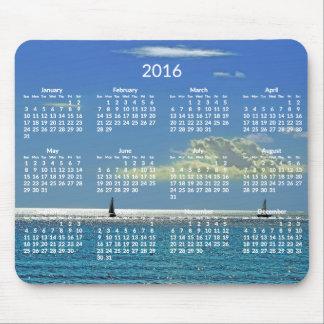 Photo 2016 annuelle de plage de Mousepads de Tapis De Souris