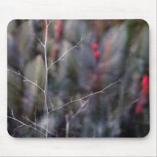 photo abstraite de branche tapis de souris