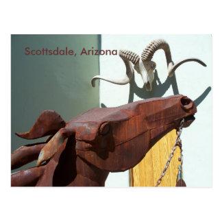 Photo AZ de carte postale de secteur d'arts de