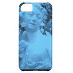 Photo bleue d'abrégé sur statue étuis iPhone 5C