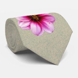 Photo botanique de dahlia de rose de fleur cravate