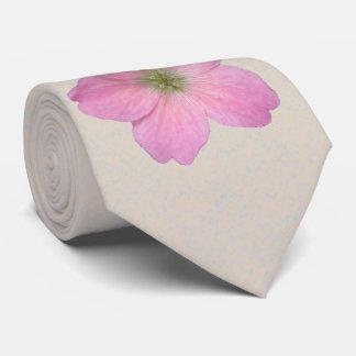 Photo botanique de géranium de rose de fleur cravates
