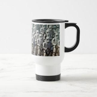 Photo brutale mug de voyage en acier inoxydable