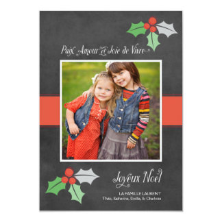 Photo Cartes de Noël | Paix Amour et Joie