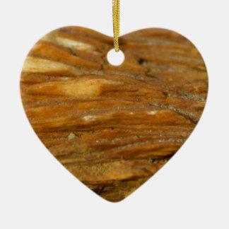 Photo crêtée de barytine ornement cœur en céramique