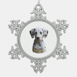 Photo dalmatienne de chiot décorations de noël