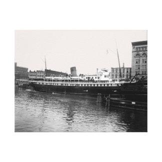 Photo de 1890's de la Virginie @ Milwaukee de Toile
