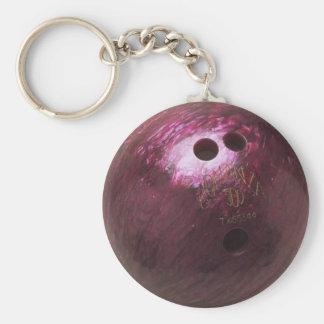 photo de boule de bowling porte-clefs