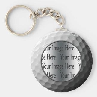 photo de boule de golf porte-clef