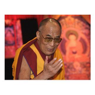 Photo de Dalai Lama Dalai Lama Thibet 3 Carte Postale