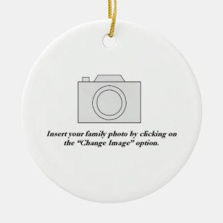 Photo de famille décorations pour sapins de noël